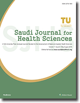 Saudi Journal for Health Sciences